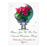 Snowglobe Christmas Party Invitation