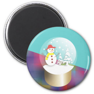 Snowglobe Magnets