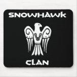 Snowhawk Clan mousepad!