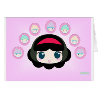 snowhite and the 7 dwarfs.jpg greeting card