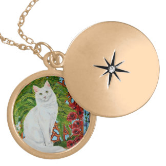 Snowi's Garden Gold Plated Necklace
