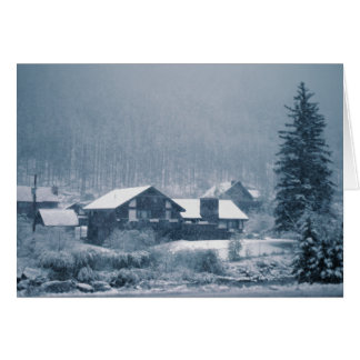 Snowing In Aspen Cards