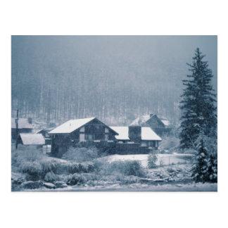 Snowing In Aspen Postcards