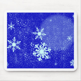 Snowing Mouse Pad
