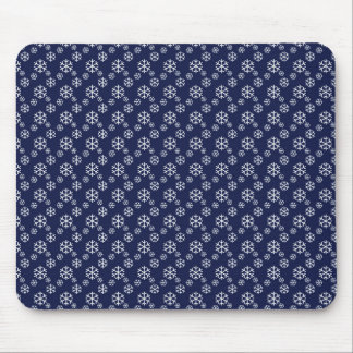 Snowing on Christmas Eve Mouse Pad