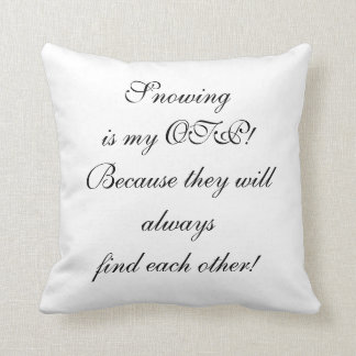Snowing Pillow