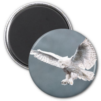 Snowings 2 Inch Round Magnet
