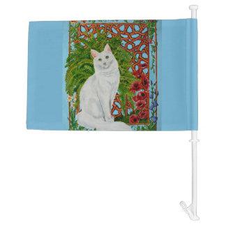 Snowi's Garden Car Flag