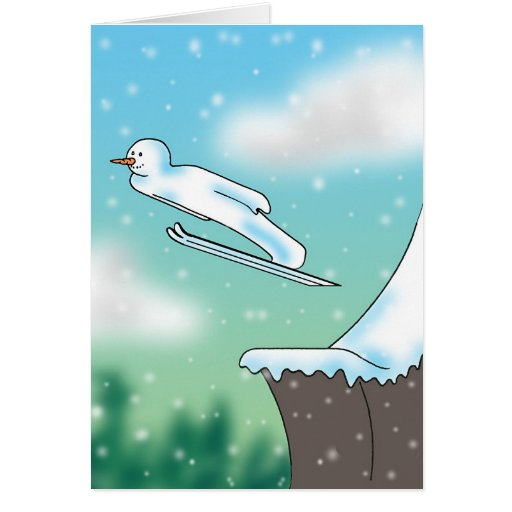Snowjumping Tarjetón