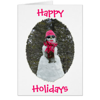 Snowlady Notecard Stationery Note Card