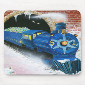 Snowland Express Mousepad