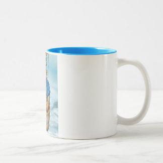 Snowland Polar Balloonists Mug