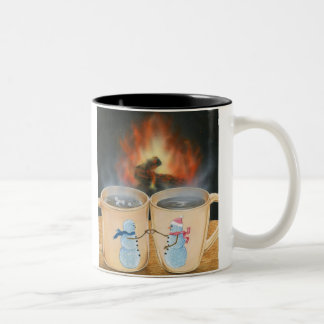 Snowland Toasting Mugs