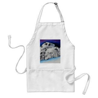 snowleopard8x10 adult apron