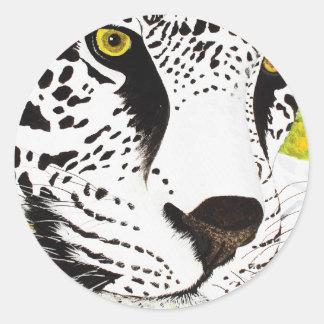 SnowLeopard - pegatina