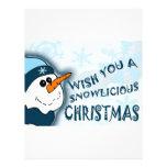 Snowlicious Christmas Customized Letterhead
