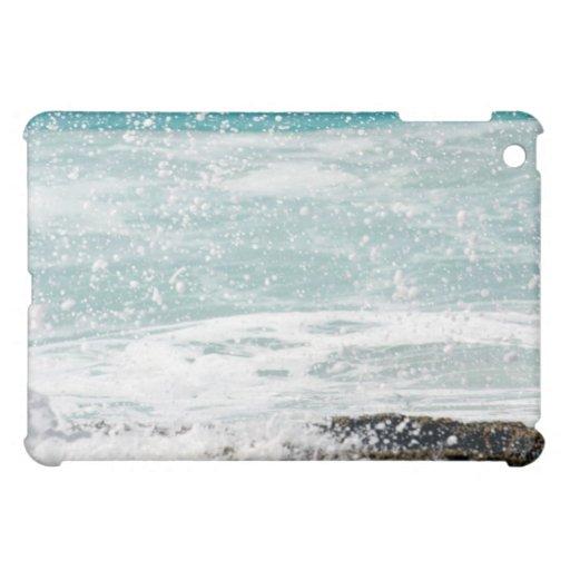 Snowlike Splash in Hawaii iPad Case