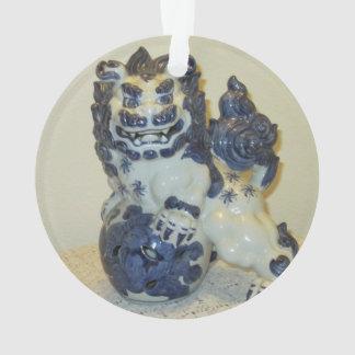 Snowlion Christmas Ornament