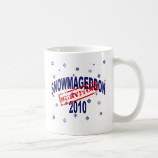 snowmageddon 2010 taza de café