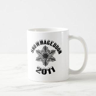 SNOWMAGEDDON 2011 COFFEE MUG