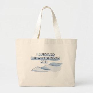snowmageddon bolsa de mano