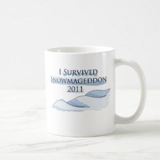 snowmageddon coffee mug