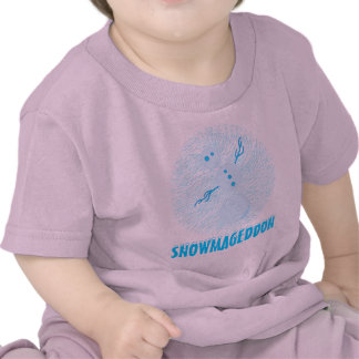 Snowmageddon Is Coming! Funny Snowman Winter Shirt