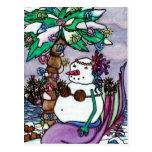Snowmaid tropical de Maigan Lynn Postales