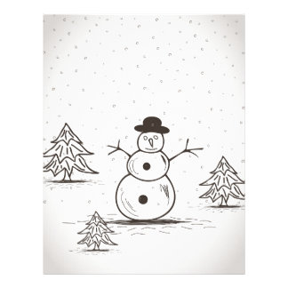 snowman2 letterhead