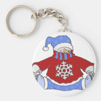 Snowman 1 keychain