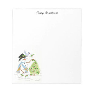 Holiday Notepads Zazzle