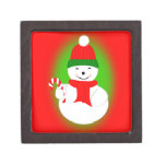 Snowman and Candy Cane Premium Gift Boxes