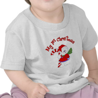 Snowman and Candycane 1st Christmas T Shirt