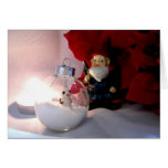Snowman and Gnome Card