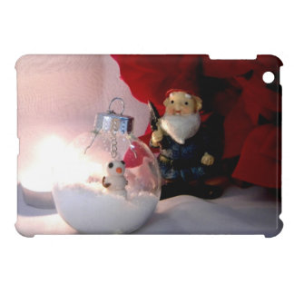 Snowman and Gnome iPad Mini Covers