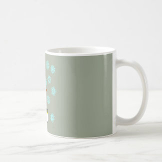 Snowman and Penguin Coffee Mug