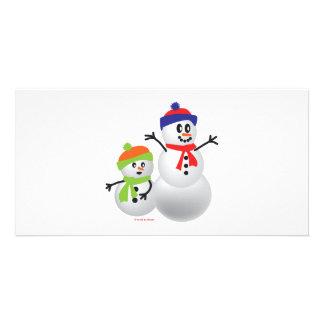 Snowman & Baby Card
