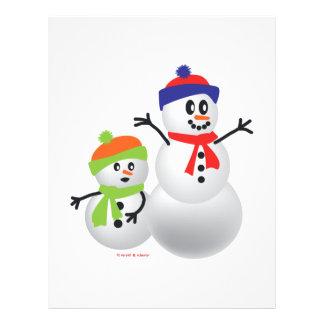 Snowman Baby Flyers