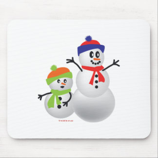 Snowman & Baby Mousepads