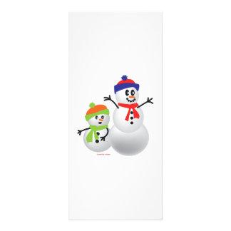 Snowman & Baby Rack Card