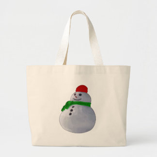 Snowman Tote Bags