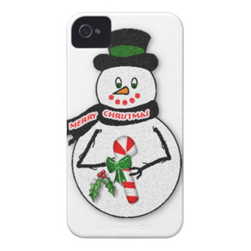 Snowman BlackBerry Bold Case-Mate Barely There™