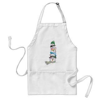 Snowman/ Bonhomme de Neige Aprons