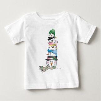 Snowman/ Bonhomme de Neige Baby T-Shirt