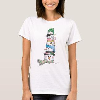 Snowman/ Bonhomme de Neige T-Shirt