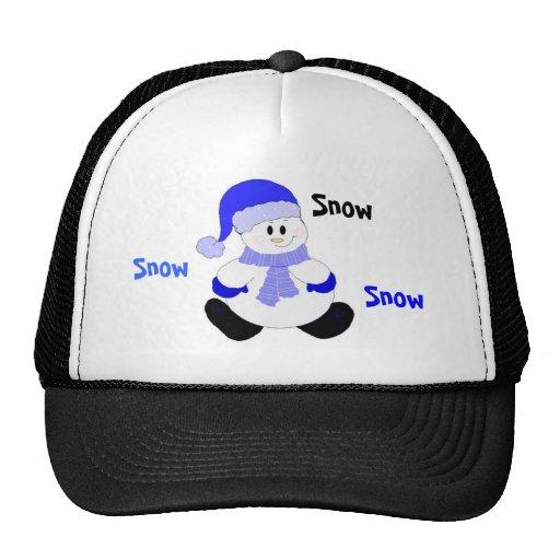 Snowman Bring On The Snow Trucker Hat