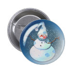 SNOWMAN BUBBLE by 4 SHARON SHARPE Buttons
