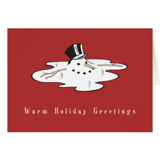 Snowman Business Christmas Cards