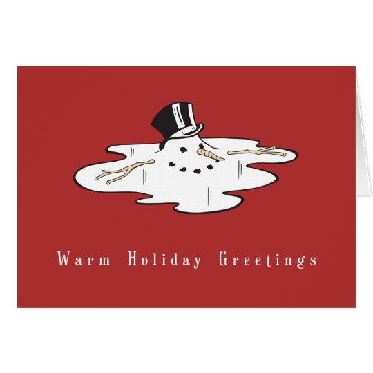 Snowman Business Christmas Cards