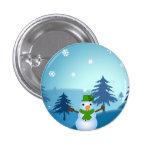 Snowman Button